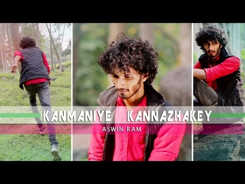 Kanmaniye Kannazhake-Original-Malayalam English Tamil song -Aswin Ram -Official -lyric