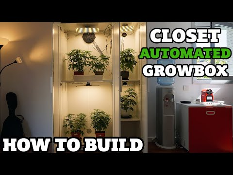 How to build an automated closet growbox & harvest every 3 weeks !
