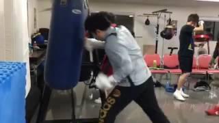 ボクシング サンドバッグ打ち 5月26日(木)武庫之荘 thumbnail