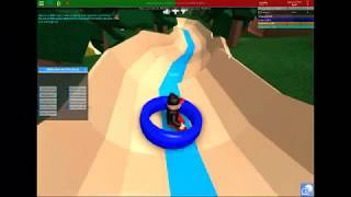 Lazy River Waterslide bei AquaLand In ROBLOX
