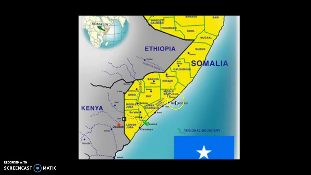 Kort Presentation Om Somalia Youtube