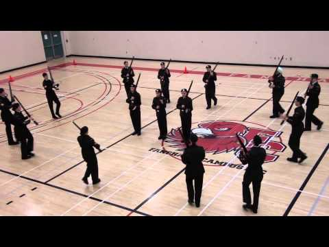 1596 Army Cadets Drill Team w/ Arms WOA Competition 2014