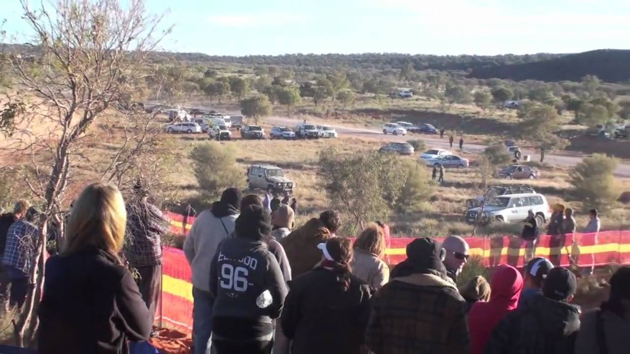 Finke desert race camping