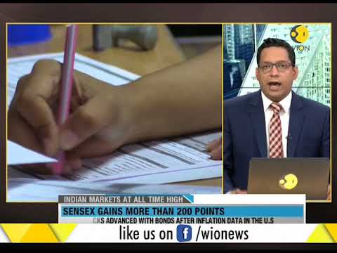 WION Wallet: Sensex gains more than 200 points