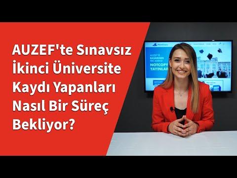 AUZEF'te Sınavsız İkinci Üniversite Kaydı Yapanları Nasıl Bir Süreç Bekliyor?