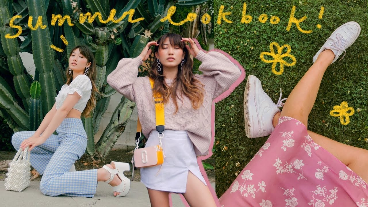 SUMMER LOOKBOOK (lots o' outfit ideas) 1