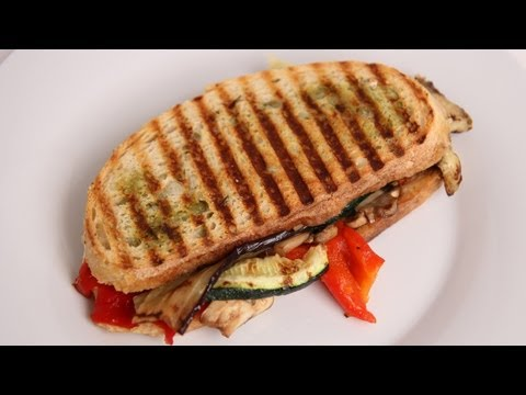 Zoysia Chicken Avocado Panini With Roasted Red Pepper Spread