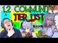 - 1.2 Genshin Impact Community Tier List Featuring Tsikyo