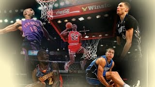 Download Top 10 Best NBA All Star Dunk Contest Dunks - ALL TIME (1984 - 2016) Mp3 and Videos