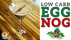 Low Carb EGG NOG - The BEST Keto Eggnog Recipe!