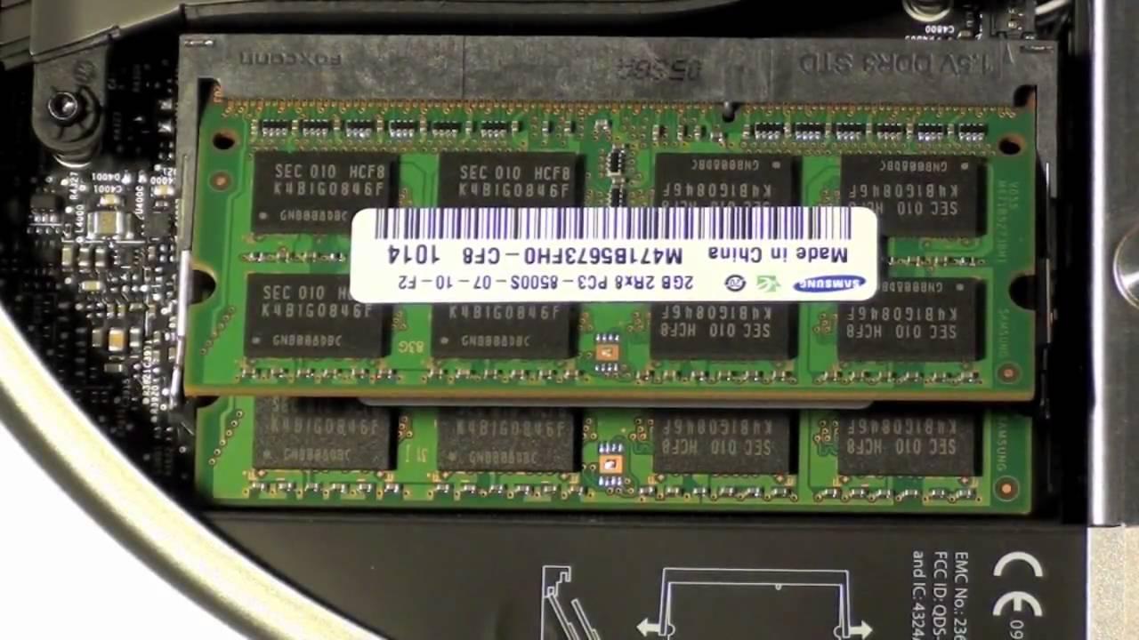16GB 2x8GB Memory Ram Upgrade Apple Mac Mini-5.1 Mid 2011 i5-2.5GHz MC816LL//A