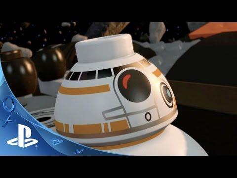 LEGO Star Wars: The Force Awakens - BB-8 Character Spotlight Trailer | PS4, PS3, PS Vita