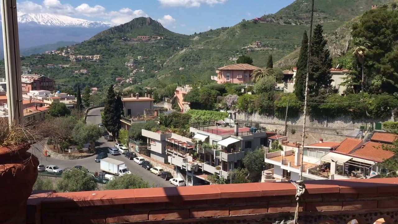 Taormina Sicily Villa For Sale - YouTube