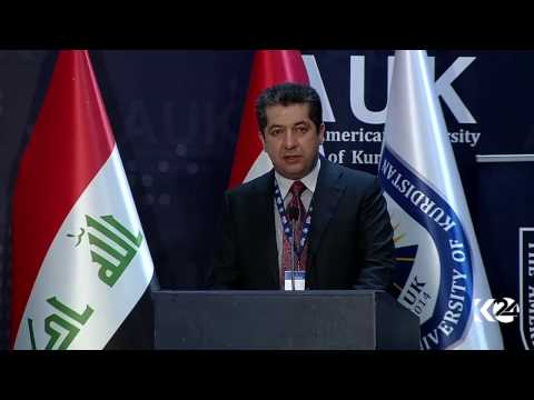 Masrour Barzani's opening remarks  during Kurdistan Independence Conference