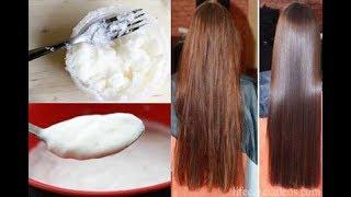 Home-Made Hair Straightening Cream