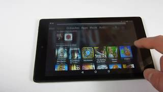 Amazon Fire HD 8 (2018) tablet | UI Performance & Impressions