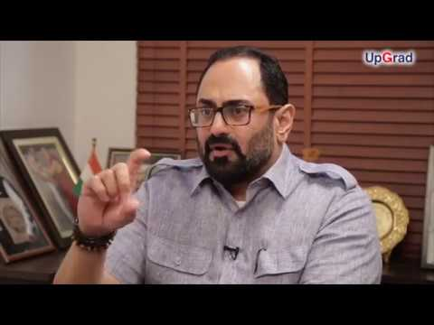 Rajeev Chandrasekhar ,Founder, Chairman and CEO, Jupiter Capital | Full Interview  | UpGrad