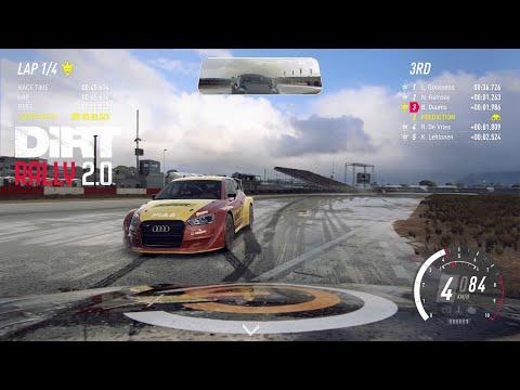 Dirt Rally 2.0 - RX Supercars 2019 - Season 4 DLC - Renault Sport Megane R.S. RX - South Africa /Wet