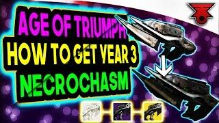 Destiny: Age of Triumph: Year 3 NECROCHASM Quest Line - Part 1 - STEP by STEP GUIDE!