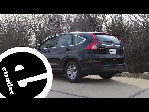 etrailer | Trailer Hitch Installation - 2015 Honda CR-V - Draw-Tite