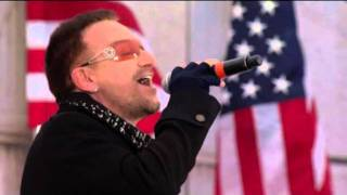 U2 - In The Name Of Love live concerto per Obama (Washington 2009)