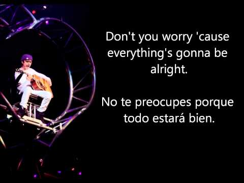 Justin Bieber - Be alright {Inglés-Español}