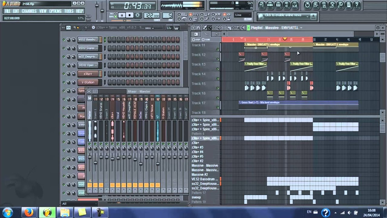 how to make a deep house song on fl studio