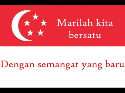 Himno De Singapur Vocal Singapore National Anthem