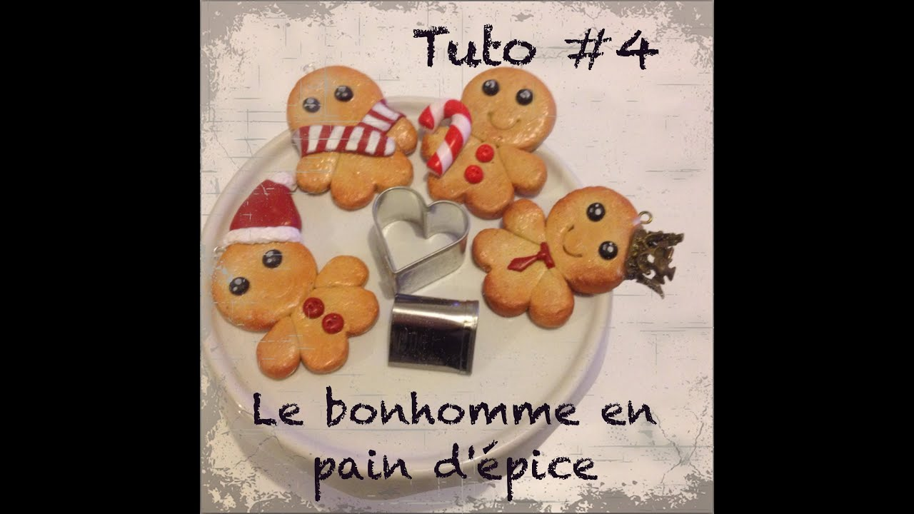 Tuto 4 petit pain d 39 pice simple youtube - Emporte piece bonhomme pain d epice ...