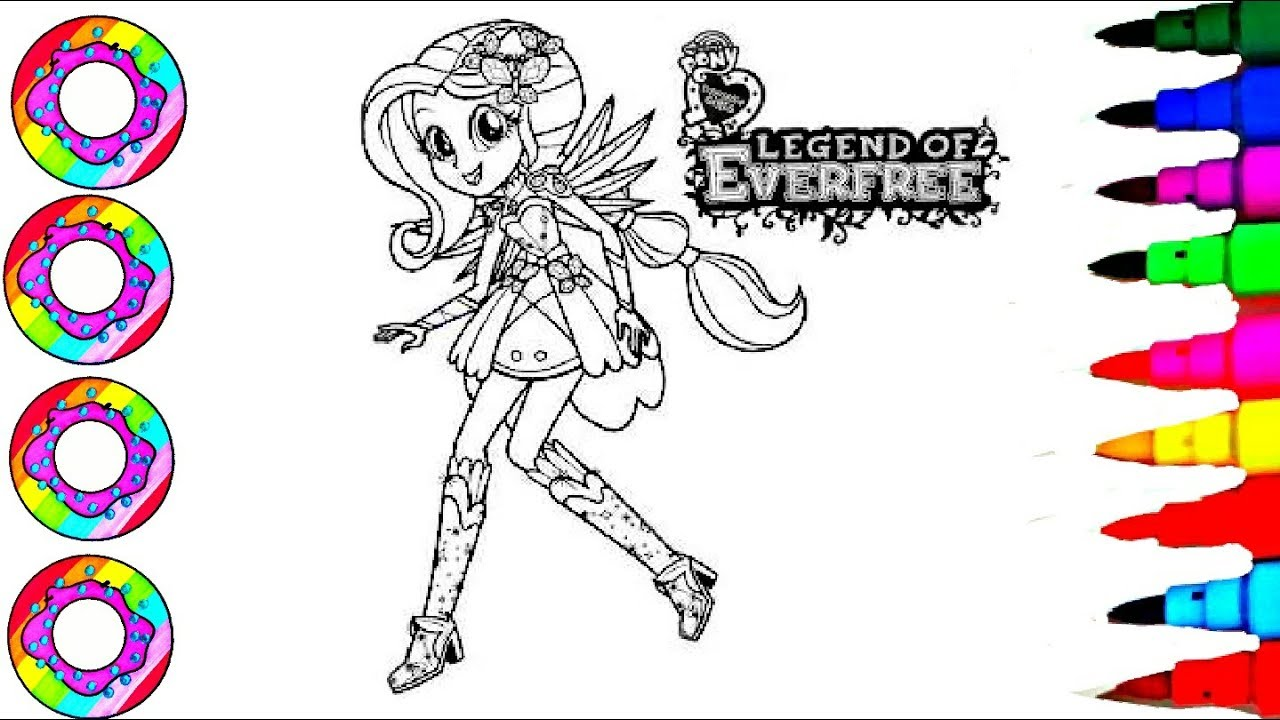 Rainbow Learning Coloring Legend Of Everfree Equestria