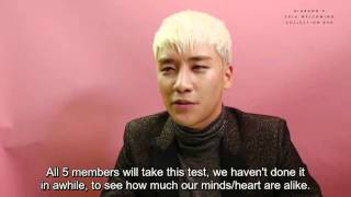 [ENG HARD SUB] BIGBANG 2016 Welcoming Collection teaser
