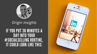 Social Selling Tips - Social Selling Routine