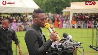 Aliyoyazungumza Diamond katika Msiba wa Masogange aamua kwenda Mbeya