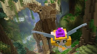 Minecraft - Can you beat my time? - Glide Mini-game - Celts