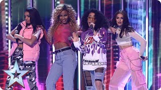 The Judges are full of praise for Miss Treat Vibe   Semi-Final 1   Britain's Got Talent 2017