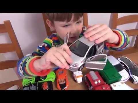 Машинки. Игрушки для мальчиков. Часть 1