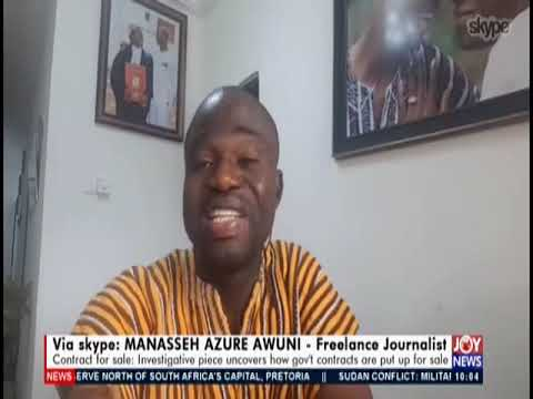 Contracts For Sale - News Desk on JoyNews (21-8-19)