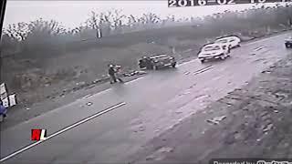 Dad gets HIT by CAR saving kid Orphan