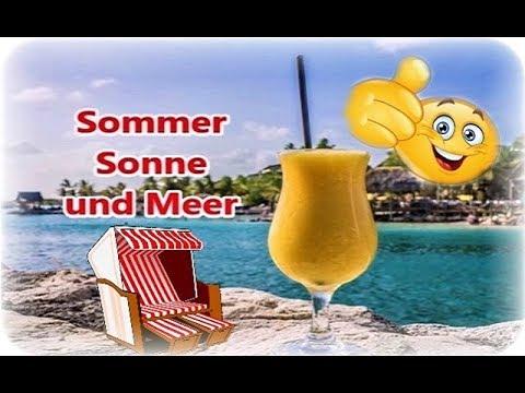 Sommer Meer Relexen Lebensfreude Strand Sonne Guten Morgen Urlaub