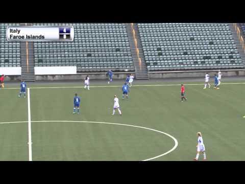 FSF Varpið. UEFA W Under-17 Championship Italy - Faroe Islands