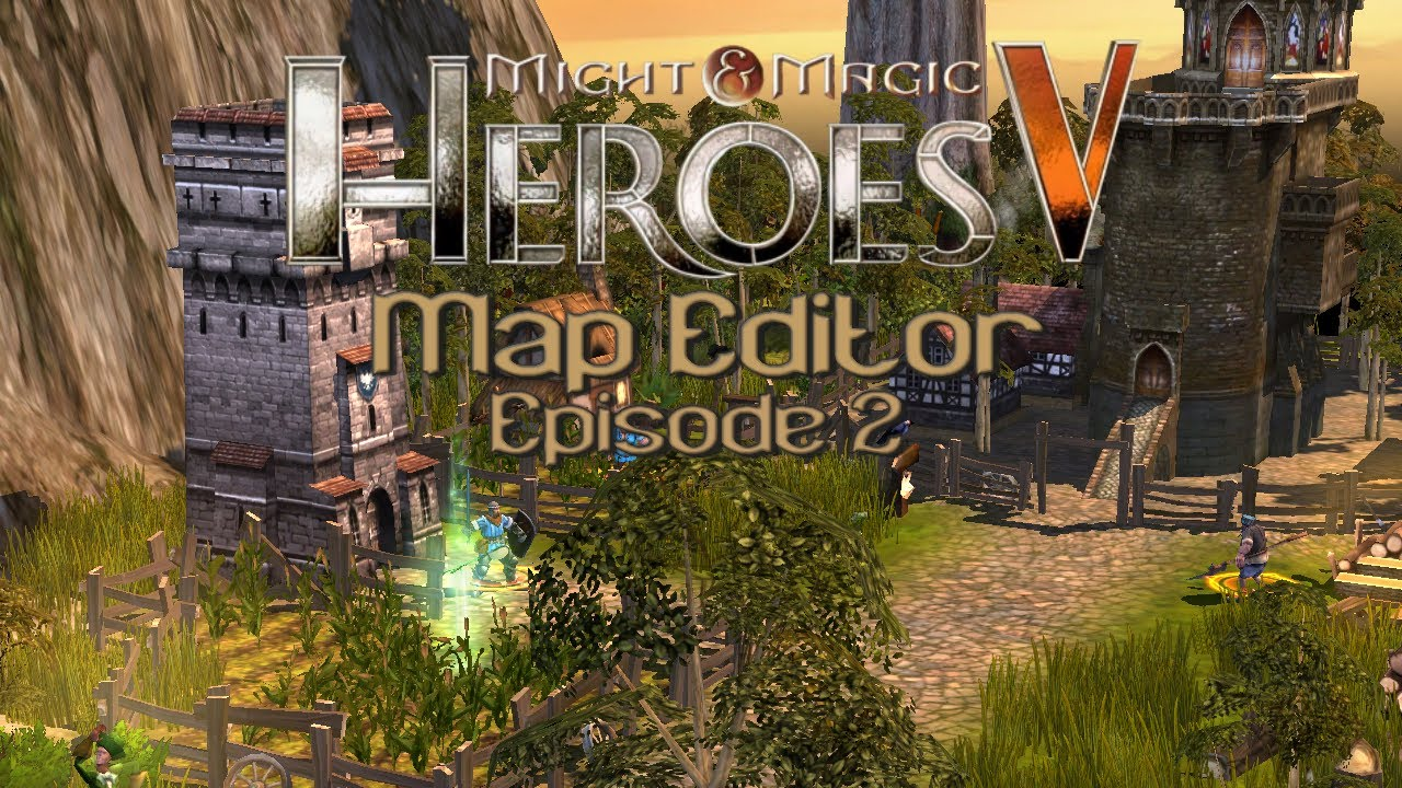Maps for heroes 5