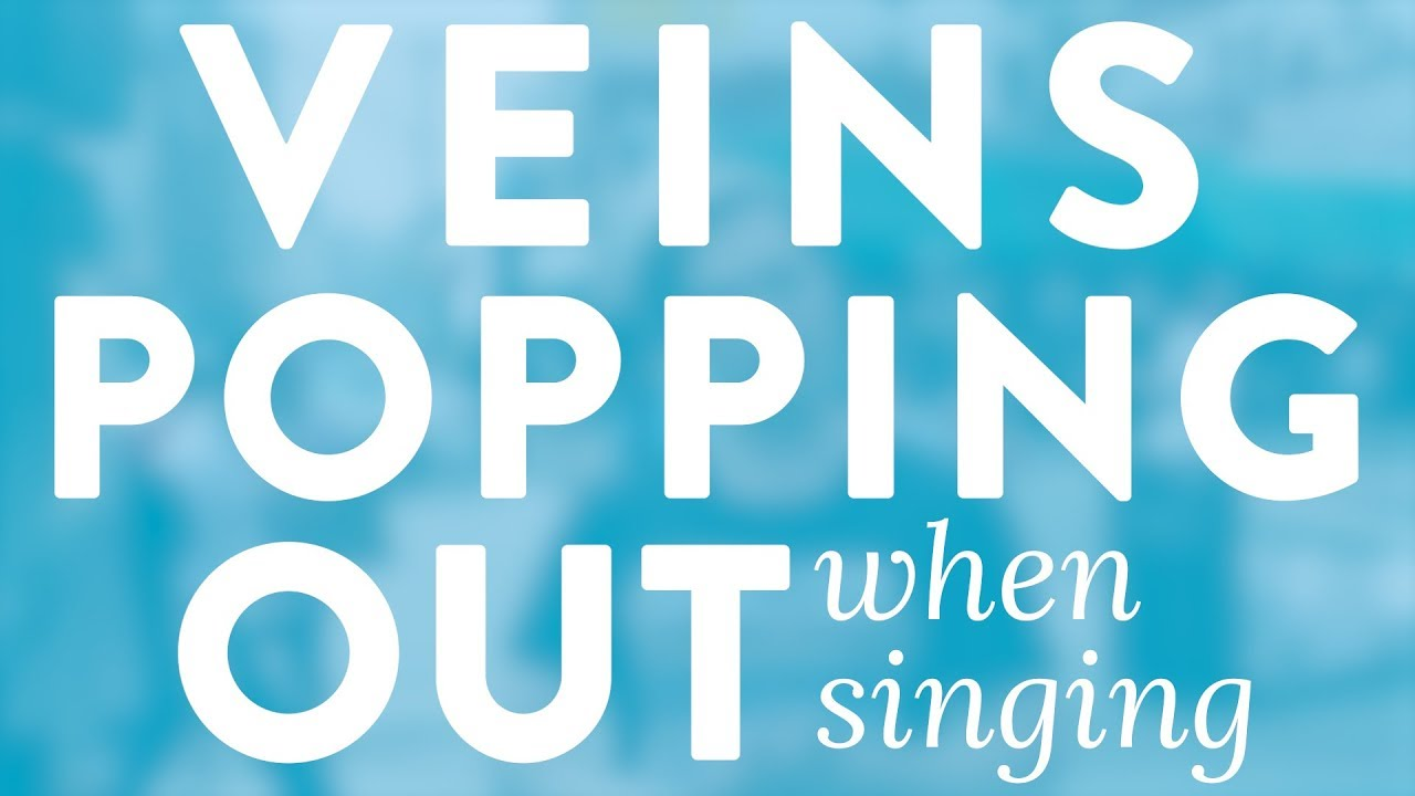 """Veins Popping Out When Singing"" - Quick Singing Tips Ep. 29 Cover"