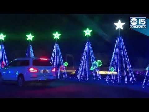 ILLUMINATION AZ! Arizona's largest and brightest holiday light display - ABC15 Digital
