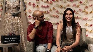 Who Knows Whom Better: Raghu & Natalie Takes Up The Fun Challenge   KALKI Fashion