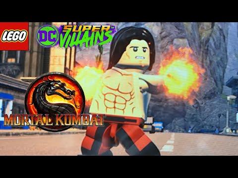 LEGO DC Super Villians - How To Make Liu Kang from Mortal Kombat |