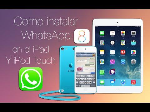 Como instalar WhatsApp en el iPad o iPod Touch iOS 9