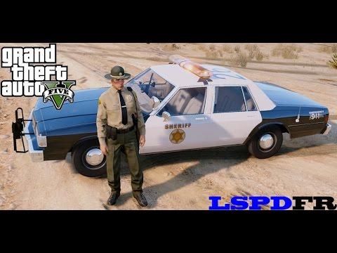 GTA 5 - LSPDFR Episode 16 - 1989 Caprice Police Car - Live Stock
