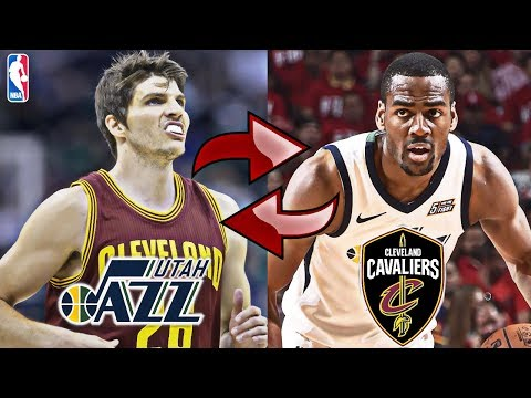 KYLE KORVER TRADED FOR ALEC BURKS AND TWO SECOND ROUND DRAFT PICKS | CAVS + JAZZ | NBA SIMULATION