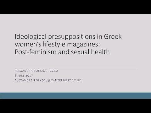 Alexandra Polyzou - Ideological presuppositions in Greek women's lifestyle magazines