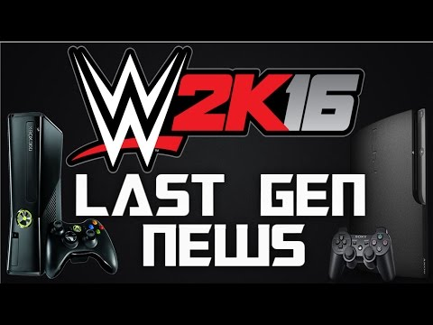 WWE 2K16 | LAST GEN NEWS - STAMINA ,CAREER MODE, ARENA EDITOR?